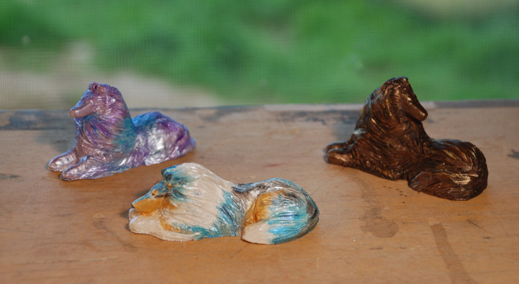 3SculpturesColored